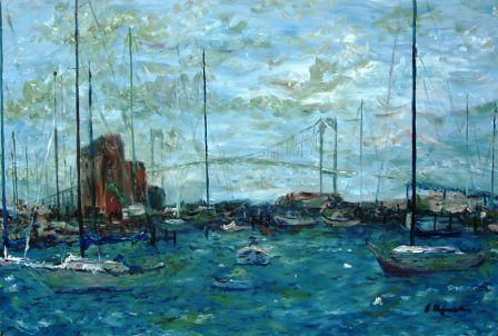 newport-harbor-Brian Hofmeister Artwork